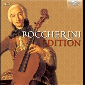 The Boccherini Edition / Parisii Quartet; Petersen Quartet; Ensemble Claviere, Lajos Lencses [37 CDs]