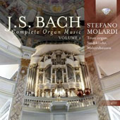 Bach: Complete Organ Music, Vol.1 / Stefano Molardi, Trost Organ, Stadtkirche, Waltershausen, Germany [4CDs]
