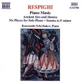 Respighi: Piano Music / Konstantin Scherbakov