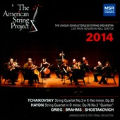 The American String Project: 2014 - Music of Tchaikovsky, Haydn, Brahms, Grieg & Shostakovich