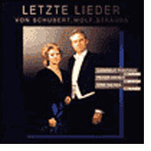 Wolf, Schubert, Strauss: Letzte Lieder / Fontana, Weber
