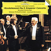 Beethoven: Piano Concerto no 5 / Zimerman, Bernstein