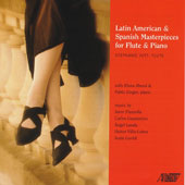Latin American & Spanish Masterpieces for Flute & Piano