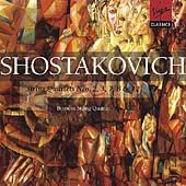 Shostakovich: String Quartets no 2, 3, 7, 8 & 12 / Borodin