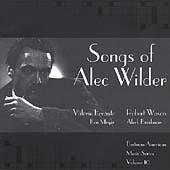 Songs of Alec Wilder / Errante, Wasao, Meyer, Brinkman