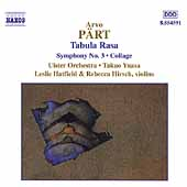 P&auml;rt: Tabula Rasa, Symphony no 3, Collage / Yuasa, et al