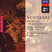 Schubert: Music for Violin and Piano / Goldberg, Lupu