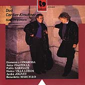 Cimarosa, Piazzolla, Sarasate, et al / Duo Cordier-Kirschner