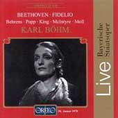 Beethoven: Fidelio / Bohm, Behrens, Bavarian State Opera