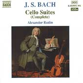 Bach: Cello Suites (Complete), Chaconne / Alexander Rudin