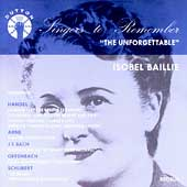 Singers to Remember - Isobel Baillie - The Unforgettable