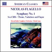 American Classics - Flagello: Symphony no 1, etc / Amos