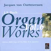 Bach: Organ Works Vol 6 / Jacques van Oortmerssen