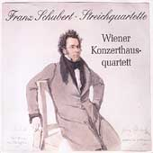 Schubert: String Quartets no 1-15 / Vienna Konzerthaus