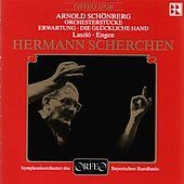 Schoenberg: 5 Orchestral Pieces, Erwartung, etc / Scherchen