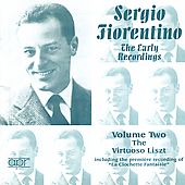 Sergio Fiorentino - The Early Recordings Vol 2 - Liszt