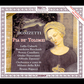 Donizetti: Pia de' Tolomei / Rigacci, Cuberli, Pecchiolo