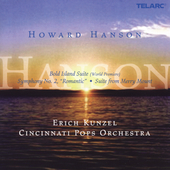 Hanson: Bold Island Suite, etc / Kunzel, Cincinnati Pops