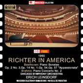 Sviatoslav Richter plays Beethoven and Brahms sonatas and concerto