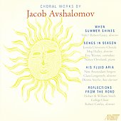 Avshalomov: Choral Works / Smith College Choir