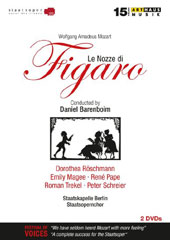 Mozart: The Marriage of Figaro / Peter Schreier, Dorothea Roschmann, Emily Magee, René Pape, Roman Trekel. Staatskapelle Berlin & Staatsopernchor, Barenboim [2 DVD]