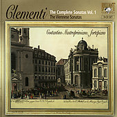 Clementi: Complete Sonatas Vol 1 / Mastroprimiano