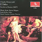 Monteverdi: L'Orfeo / Stepner, Kelley, Monahan, Aston Magna, et al