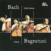 Bach: Cello Suites / Suren Bagratuni