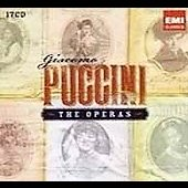 Giacomo Puccini - The Operas / Bartoletti, Pr&ecirc;tre, Alagna, Bergonzi, Caball&eacute;, Callas, Corelli, Freni, et al