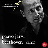 Beethoven: Symphonies no 5 & 1 / Paavo J&auml;rvi, et al