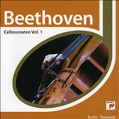 Beethoven: Cellosonaten, Vol. 1
