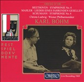 Beethoven: Symphonie No. 4; Mahler: Lieder eines fahrenden Gesellen; Schumann: Symphonie No. 4