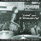 Sarah Vaughan: Live and S'Wonderful