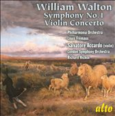 William Walton: Symphony No. 1; Violin Concerto / Accardo