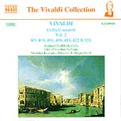 Vivaldi: Cello Concerti Vol 2 / Wallfisch, Kraemer