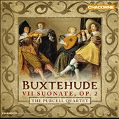 Dietrich Buxtehude: 7 Sonatas, Op. 2 / Purcell Quartet