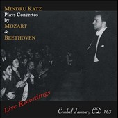 Mozart & Beethoven: Concertos / Mindru Katz, piano