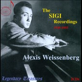 Sigi Recordings, 1949-1955 - works by Bach/Liszt, Haydn, Czerny, Prokofiev, Scriabin et al. / Alexis Weissenberg, piano [2 CDs]