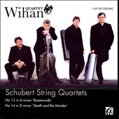 Schubert String Quartets: No. 13 'Rosamunde', No. 14 