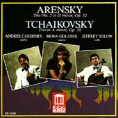 Arensky, Tchaikovsky: Piano Trios / Cardenes, Solow, Golabek