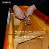 Mozart: Piano Concertos Nos. 17 in G major & 18 in D major 'Coronation'