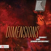 Dimensions: Works for String Orchestra by Hutter, Babin, Burns, March, Debussy, Kronfuss et al. / Richard Stoltzman