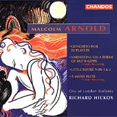 Arnold: Concerto for 28 Players, etc / Richard Hickox, et al