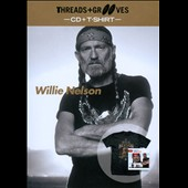 Willie Nelson: Threads and Grooves: Playlist [with T-Shirt] [Slimline]