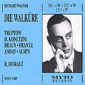 Wagner: Die Walk&uuml;re / Moralt, Treptow, Konetzni, et al