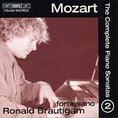 Mozart: The Complete Piano Sonatas Vol 2 / Ronald Brautigam
