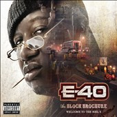 E-40 (Rap): The Block Brochure: Welcome to the Soil, Pt. 5 [PA] [Digipak]