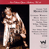 Verdi: Rigoletto / Herbert, Warren, Gueden, Conley, et al