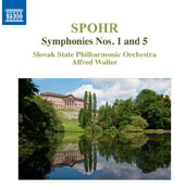 Louis Spohr (1784-1859): Symphonies Nos. 1 & 5 / Slovak State PO, Alfred Walter