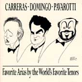 Favorite Arias / Carreras, Domingo, Pavarotti